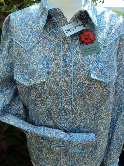 Woman's shirt in Liberty London's 'Charles'