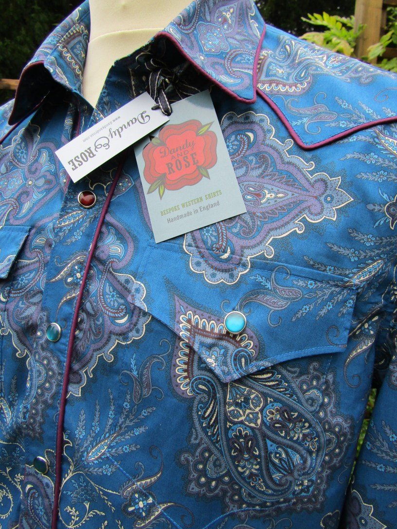 Dean Owens' shirt in Liberty's 'Lady Paisley'