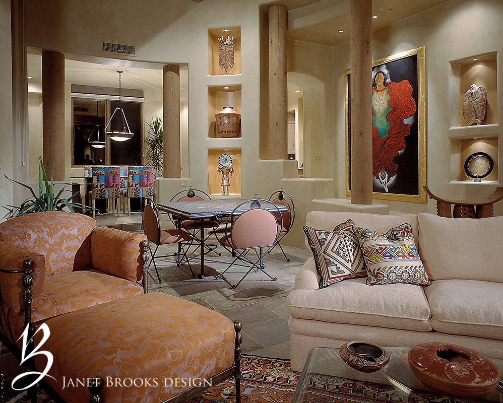 Southwestern Interior Design Janet Brooks Design Scottsdale Interior Design Luxury