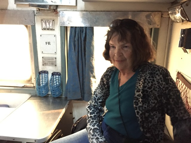 Sitting on Lower Berth Of Two with Table