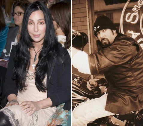 CHER AND HER FORMER HELLS ANGEL BOYFRIEND ARE OVER