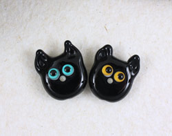 Black Cat Beads