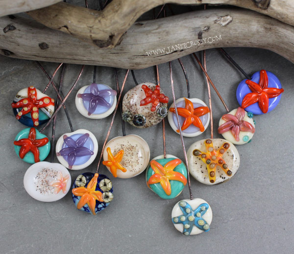 Starfish Headpins