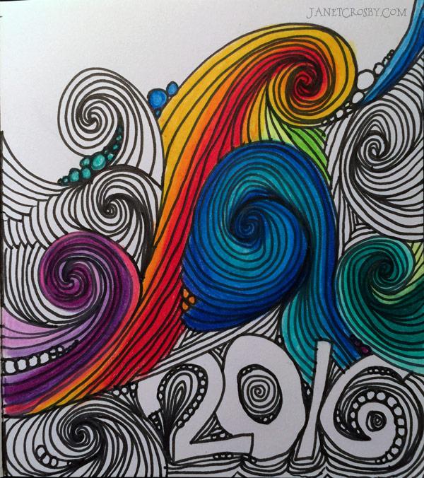 2016 Waves -janetcrosby.com