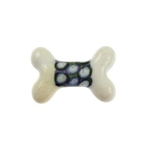Puffy Polka Dots Bone - janetcrosby.com