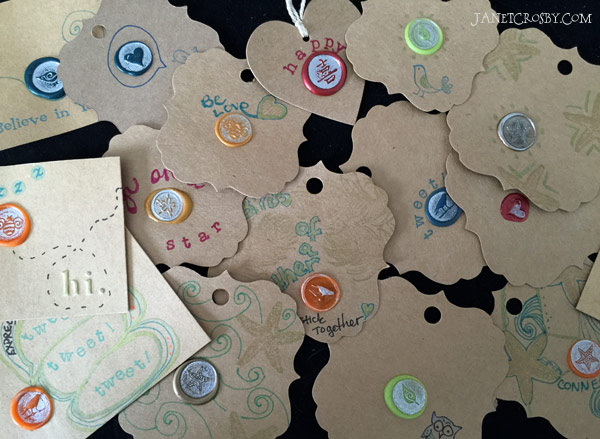 Wax Seal Cards - janetcrosby.com