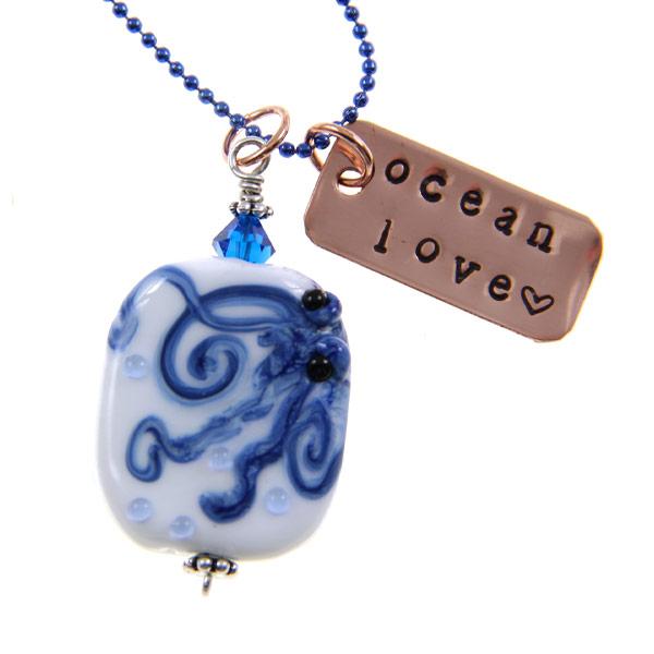 Ocean Love Octopus by Janet Crosby