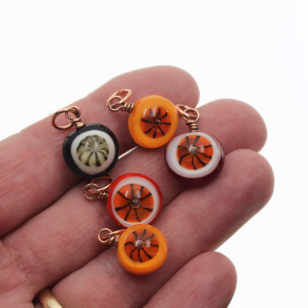 Pinwheel Charms by Janet Crosby