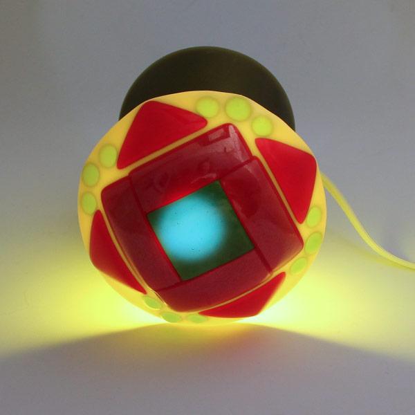 Geometrix 2 mushroom lamp by Janet Crosby