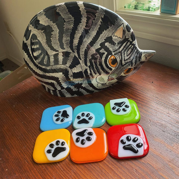 Curious Paws Cabinet Knobs