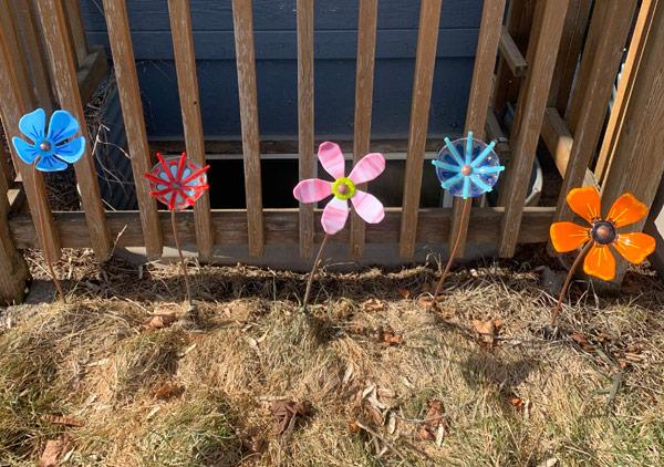Garden Flower Bunch - test plot