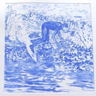 Surfer 3 Artist's Proof (ultramarine)