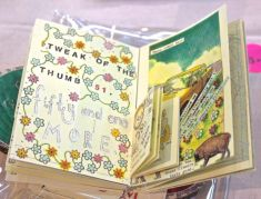 There were delightful surprises in Joanna's little books.
