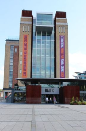 Entrance to the Baltic Mill.