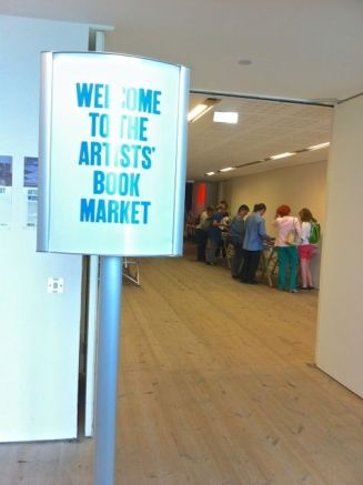 """""""Welcome to the Artists' Book Market."""""""