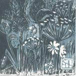 Sally Dixon-Leigh, Blue Meadow, 2015.