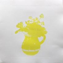 Tapas jug yellow proof