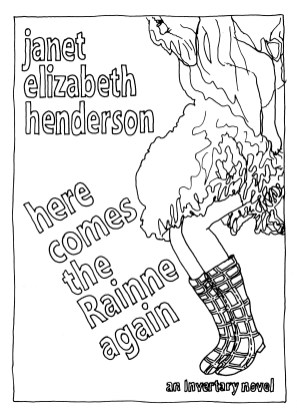 Invertary colouring page Here Comes The Rainne Again
