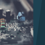 A dell circuit board for article on women in tech