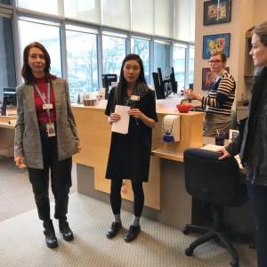 SLA club visits BC Cancer