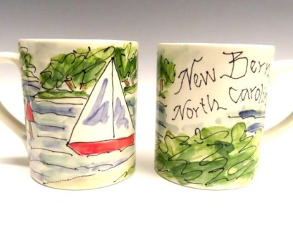 new bern mug by janet francoeur