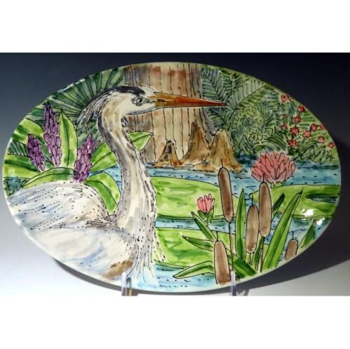 Celebration Pottery Nature Heron S
