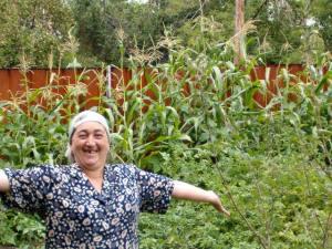 Hadija loves her garden