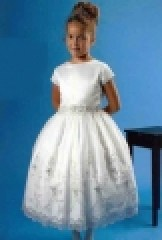 Classic first communion dress