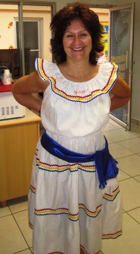 Jill in costume
