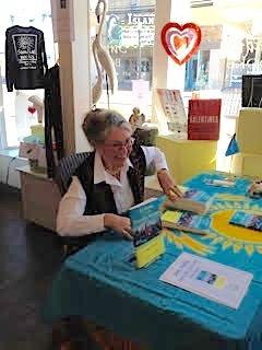 Chincoteague book signing, Janet Givens