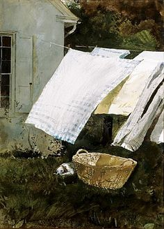 Light Wash, Andrew Wyeth, Permanent collection @ The Cummer Museum, Jacksonville, FL With my thanks