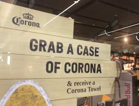 Grab a case of Corona