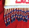 Detail of the fringe on the 'Shlama' bag