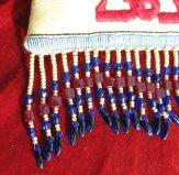 Detail of the fringe on the 'Shlama' bag