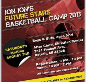Jon-Jon's Future Stars Basketball Camp