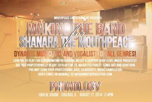 Making the Band for Shanara The MouthPeace