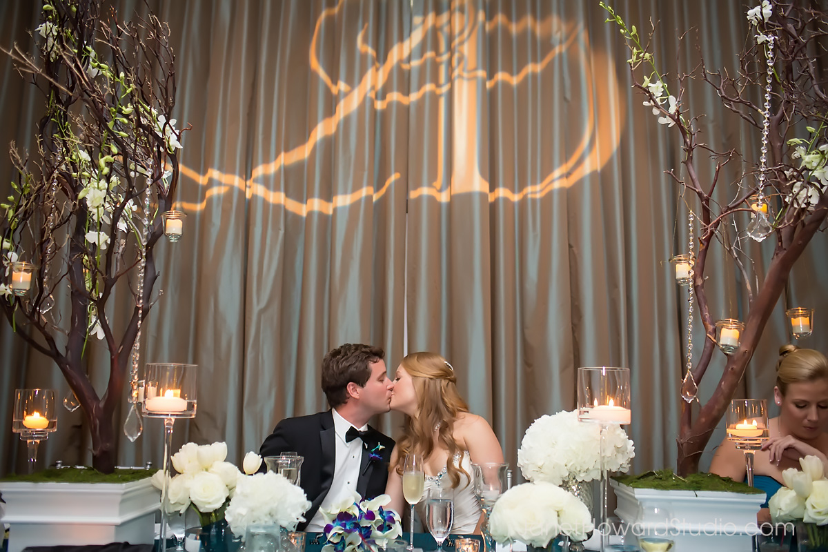 Elegant wedding at Renaissance Midtown Atlanta by F&G Weddings