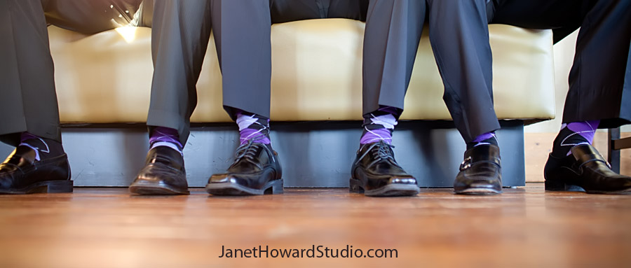Wedding day tips: Bring extra Men's socks