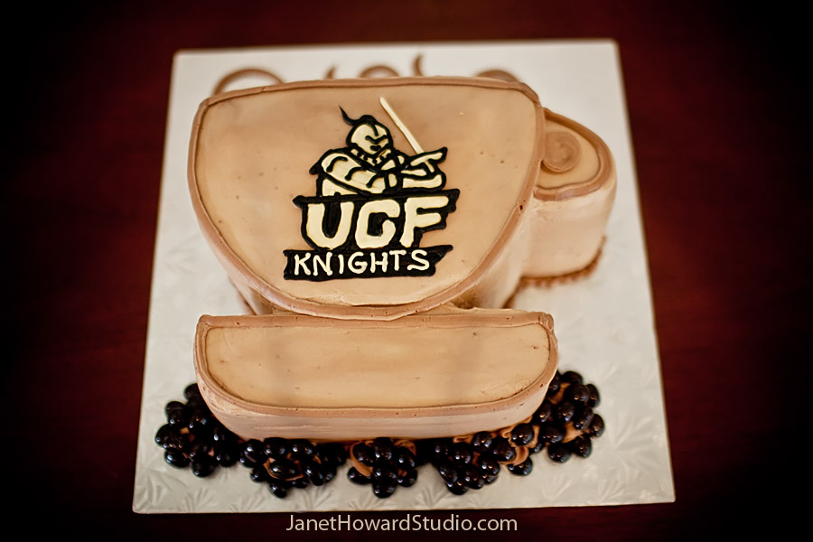 UCF Knights Coffee Groom's Cake