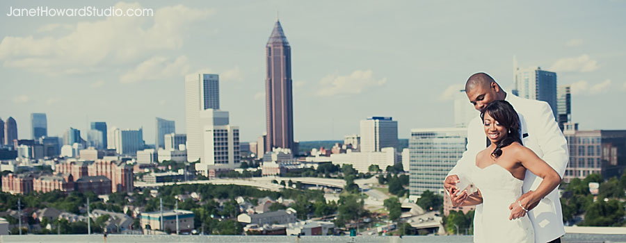 Atlanta city view from Ventanas downtown