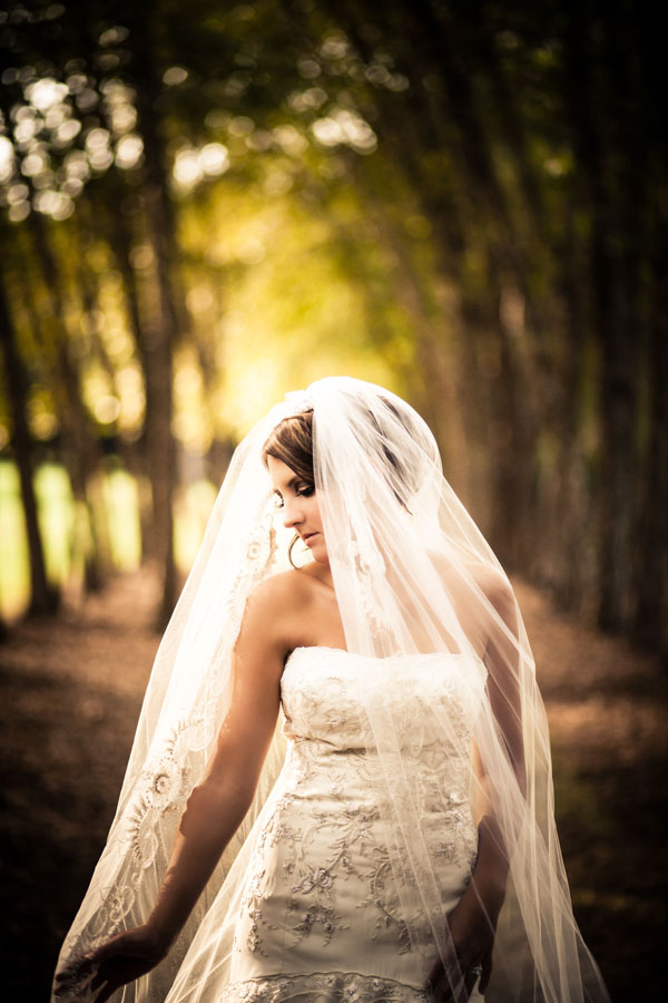 Bride at Gibbs Gardens