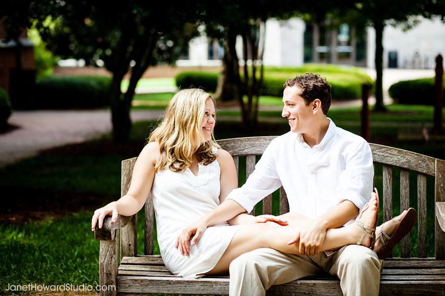 Agnes Scott College engagement Decatur