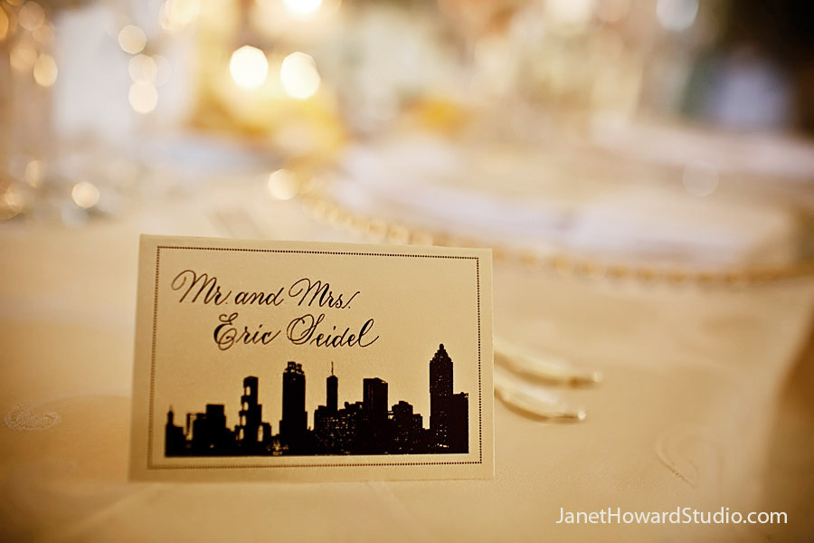 Skyline escort cards