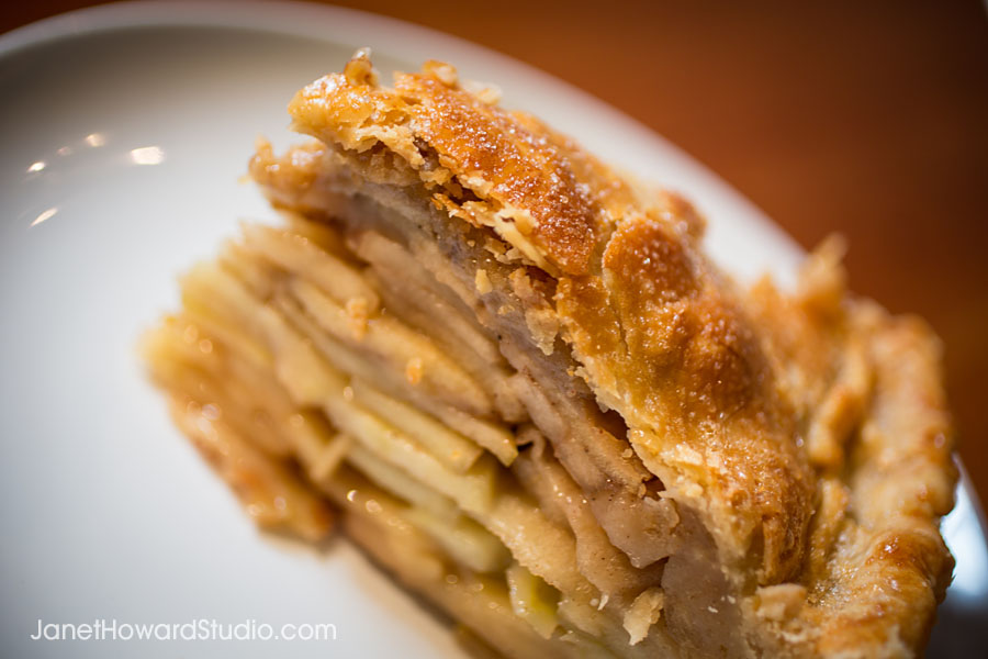 Sift Apple pie