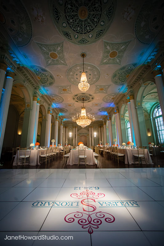 Biltmore Ballrooms wedding decor by Lemiga Events, I Do Linens, CR Florals, Unique Event Management