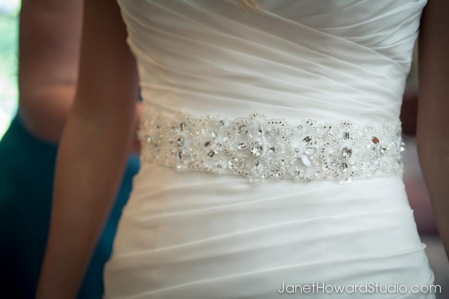Bride's Gown Detail