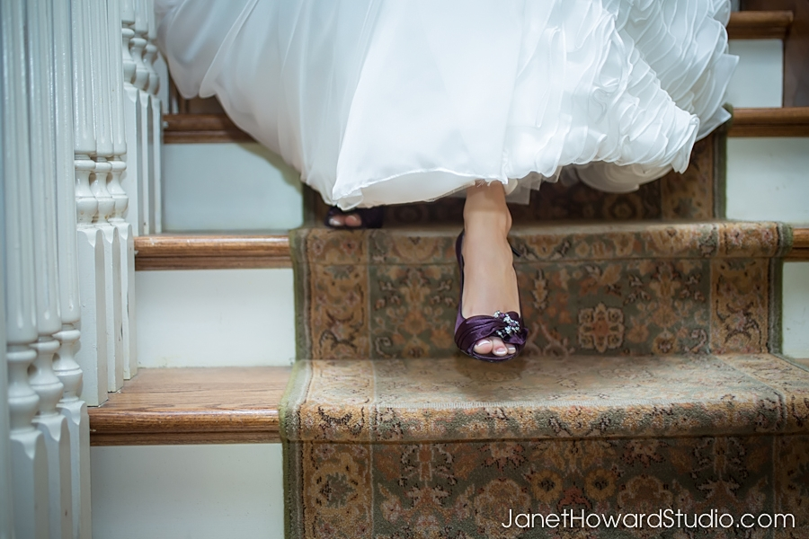 Bride at The Carl House