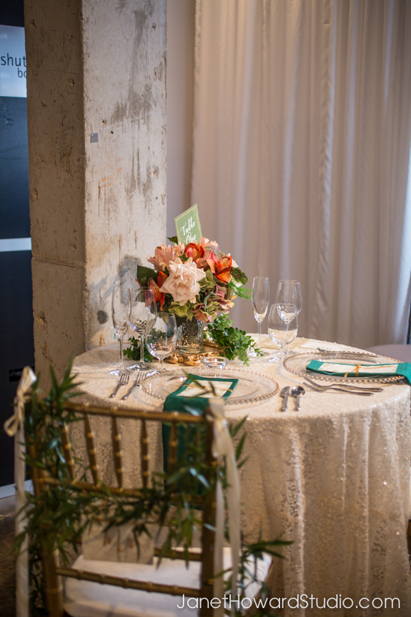 Sweetheart table by It Takes Two Events