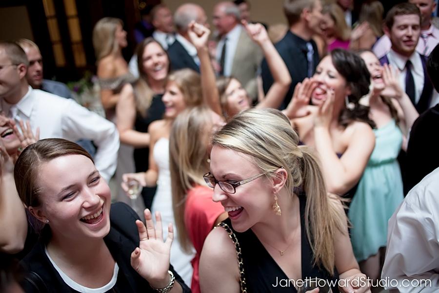Dancing at The Carl House Wedding
