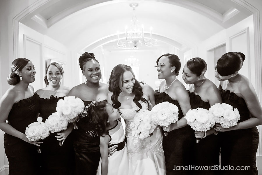 Bridesmaids at The St. Regis Atlanta